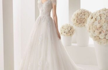 7 New Glitter Wedding Dress