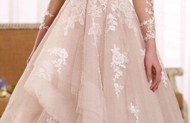 10 Perfectly Hot Pink Wedding Dress