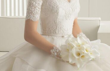 13 Cute Lace Top Wedding Dress