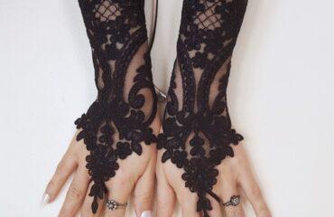 6 Super Long White Gloves Formal