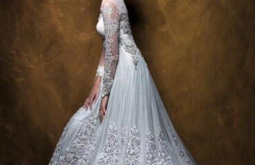 17 Most Orange Wedding Dress