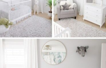12 Pretty  Space Themed Baby Room