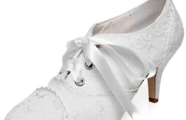 11 Wonderful White Heel Shoes