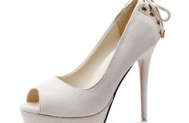 17 Best White Heeled Boots Wedding Shoes