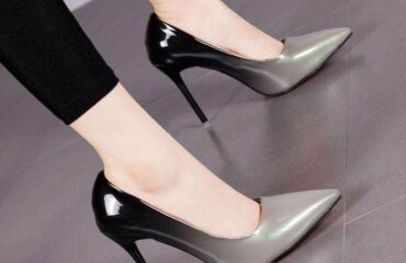 12 Creative White Heeled Shoes Aesthetic